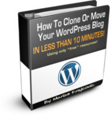 Product picture How to Clone or Move Your Wordpress Blog
