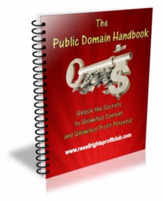 Product picture The Public Domain Handbook