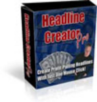 Product picture Headline Creator Pro