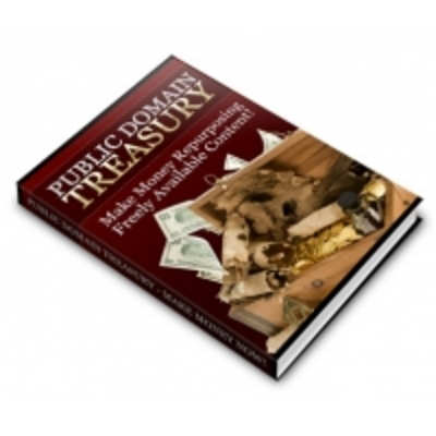 Product picture Public Domain Treasury - Complete eBook & PLR Package