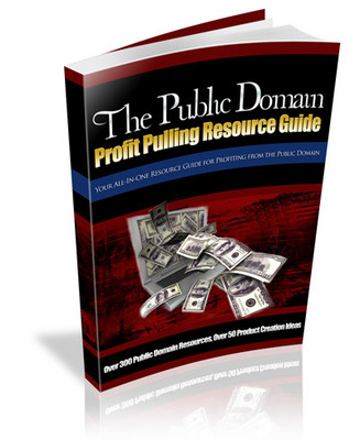 Product picture The Public Domain Profit Pulling Resource Guide